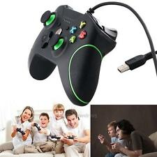 New USB Wired Gamepad Game Controller With Dual Vibration Joystick For Xbox One