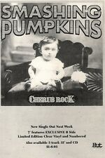 19/6/93PGN14 SMASHING PUMPKINS : CHERUB ROCK SINGLE ADVERT 7X5""