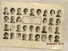 Nativity School Picture 1963-64 Grade 6 Evansville IN Individual Student Photos