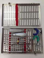 Hu-Friedy Surgical Dental Cassette with Instruments