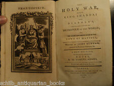 1795 Puritan John BUNYAN Holy War Shaddai Occult Satan Demons Christianity