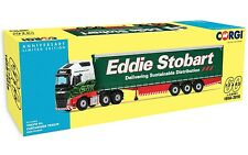 CORGI 60TH ANNIVERSARY UNIT - CC16002 1/50 VOLVO FH CURTAINSIDE EDDIE STOBART