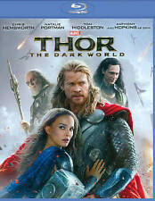 Thor: The Dark World (Blu-ray Disc, 2014) VG