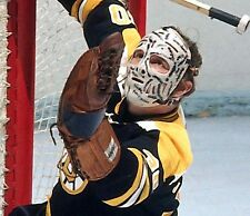 GERRY CHEEVERS VINTAGE GOALIE MASK BOSTON BRUINS HOCKEY 8x10 PHOTO