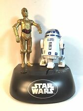 Kenny Baker R2D2 & Anthony Daniels C3PO autograph signed autographed bank +proof