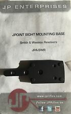 SHIELD MINI SIGHT SMS JPOINT RED DOT SMITH & WESSON REVOLVER REAR SIGHT MOUNT