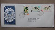 CONGRESSO ORNITOLOGICO Seychelles Primo Giorno Custodia Cover - 1976 FDC 1st postale