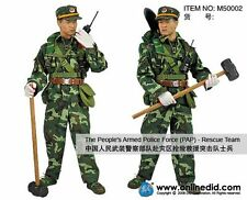 """DID 1/6 Scale 12"""" PAP The Peoples Armed Police Force Rescue Team Figure M50002"""