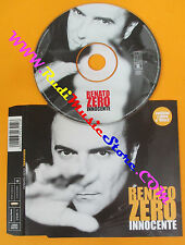CD singolo RENATO ZERO innocente 2002 austria TATTICA TAT6726412 (S24) no mc lp