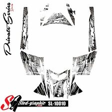 SLED WRAP DECAL STICKER GRAPHICS KIT FOR SKI-DOO REV MXZ SNOWMOBILE 03-07 10010