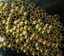 5000 Pcs gold plated CRIMPS ROUND findings beads 2mm