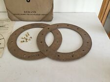 Morris Commercial-LC, 25-30cwt, Pair of Clutch Linings, NOS.