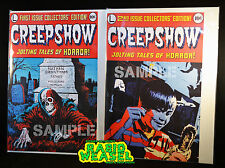 Rare Creepshow Comic Covers Only Replicas Halloween Prop Print