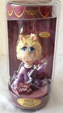 "Miss Piggy 7"" Bobblehead Doll Hand-painted The Muppet Show 25 Years Jim Henson"