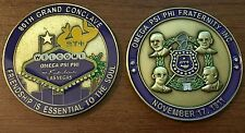 Omega Psi Phi 80th Conclave Challenge Coin (free pin included with purchase)