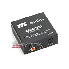 WyreStorm EXP-CON-DAC-D Digital to Analogue DAC Converter with Dolby Downmix