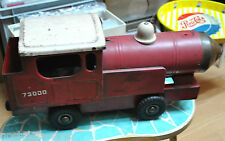40er Original Lok rot Metall Sammlerstück Rarität Lokomotive Made in UK