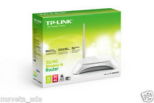TP-Link TL-MR3220 150Mbps 10/100 WiFi Wireless Router 3G/4G LTE USB 5dBi Antenna