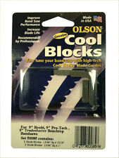 "Olson Genuine Cool Blocks CB50085 fit 9"" Ryobi & Other 9"" Benchtop Band Saws"