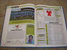 FOOTBALL COUPURE LIVRE PHOTO MRBT29 20x10 D2 GrB OL LYONNAIS LYON 1988/1989