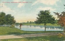 ROCHESTER NY – Maplewood Park Duck Pond - 1910