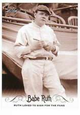 2016 Leaf Babe Ruth Collection #31 Babe Ruth