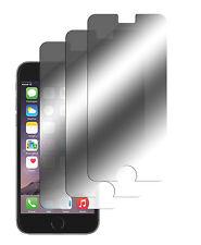 3 x iPhone 6 / 6S Spiegelfolie Displayschutzfolie Folie Mirror Screen Protector