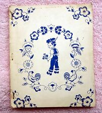 THINGS TO DO GAME BOOK by James & Jonathan Company - 1950 STAPLE BOUND - Rare!