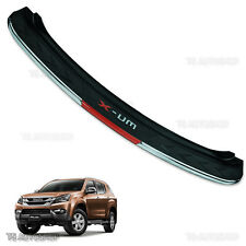 15 16 17 Isuzu Mu-x Suv 4x2 4x4 Full Rear Sill Black Bumper Protect Step Gurads
