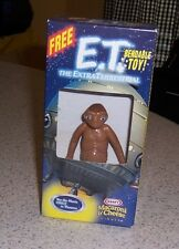 E.T. EXTRA-TERRESTRIAL BENDABLE TOY PVC NEW IN BOX KRAFT MAC& CHEESE PROMO/ 2002