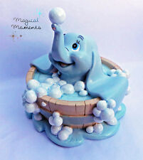 Disney Magical Moments,  Dumbo in Bath, Baby Mine (DI181) 10cm