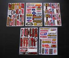 5 planches Autocollant Moto cross Motard ATV Dirt Bike  Quad voiture Stickers