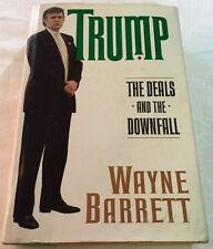 Rare Book - President DONALD TRUMP DEALS DOWNFALL Real Estate Business Biography