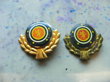 Lot of 2 FORD PREFECT Very Old Tinplate Lapel Badges,prob.1950s