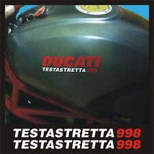 Ducati Monster 998 testastretta serbatoio - adesivi/adhesives/stickers/decal