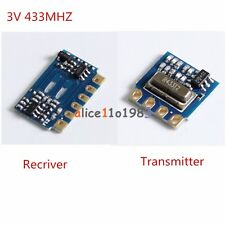 Imported 433MHz 3V MINI Wireless Transmitter Module+Receiver Module Transceiver