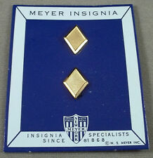 Vintage Military School / ROTC / Academy Cadet Officer Gold Rank Insignia