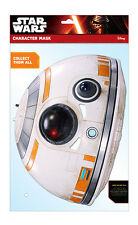 BB-8 Official Star Wars The Force Awakens Single CARD 2D Party Face Mask droid