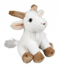 Ravensden Suma Goat Cute Plush Soft Toy White Sitting 15cm FRS007GT