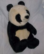 "13"" WHOLESALE MERCHANDISERS PANDA TEDDY BEAR STUFFED ANIMAL PLUSH TOY REALISTIC"