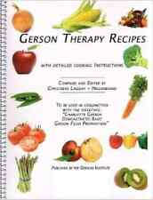 Gerson Therapy Recipes with Detailed Cooking Instructions