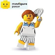Lego 8803 Collectible Minifigure Series 3: No 10 - Tennis Player  - New