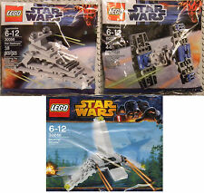 Lego Star Wars Mini Sets Imperial Star Destroyer Tie Fighter & Shuttle NEW RARE