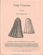 Schnittmuster Truly Victorian TV 291: 1898 Walking Skirt