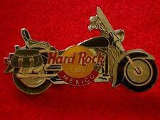 HRC Hard Rock Cafe Mexico Black Harley Saddlebag Motorcycle
