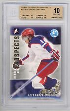 Alex Ovechkin 2004-05 ITG Heroes Prospects Rookie RC Card BGS 10 Pristine *L1242