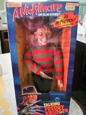 VINTAGE 1989 MATCHBOX A NIGHTMARE ON ELM STREET TALKING FREDDY KRUEGER DOLL 18""
