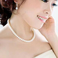 Vintage Pearl Necklace Imitation Fashion Accessories Wedding Bridal Gift Xmas UK
