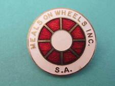 Meals on Wheels Enamel Badge Maker: A J Parkes