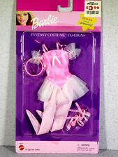 NIB BARBIE DOLL 1999 FANTASY COSTUME FASHIONS PINK